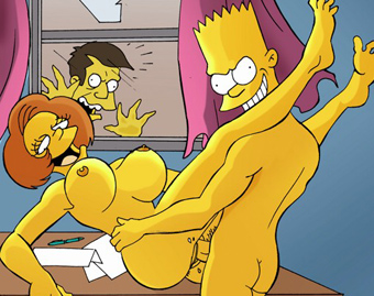 Mean Simpsons continue the lust